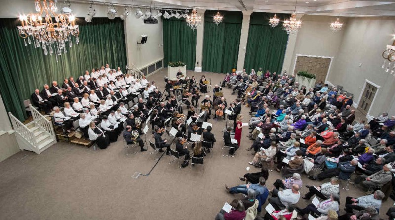 Concert with Richmondshire Choral Society at Tennants (Leyburn) in April 2016