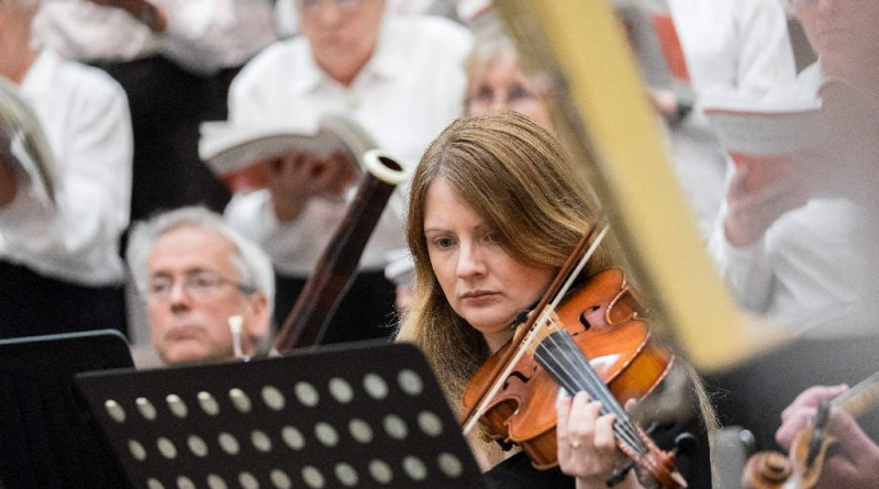 Susie Gatenby, CCO Chairman (with her father Tim in the background playing viola for a change)