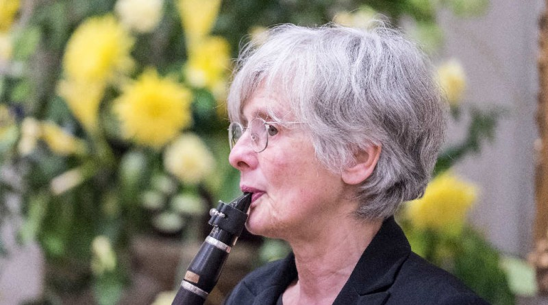 ... and mother Anna Jackson (clarinet), past Chairman of the CCO